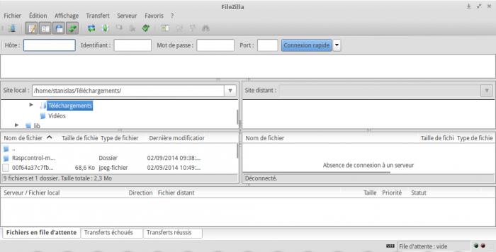 Accéder à son Raspberry Pi via le protocole FTP