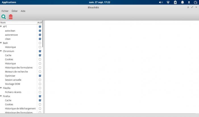 Nettoyer et libérer de l'espace sur son ordinateur sous GNU/Linux avec BleachBit
