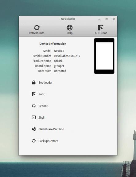 Nexulocker : Rootez et flashez facilement votre Nexus sous GNU/Linux