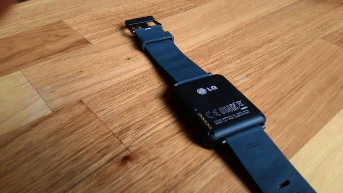 Déballage LG G Watch