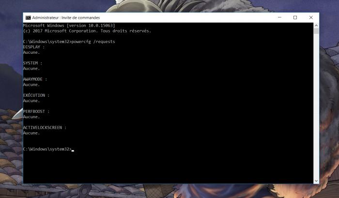 Désactiver la mise en veille connectée (S0) sous Windows 10